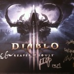 Diablo Mini-Poster Signed