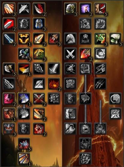 Warrior Class Talent Tree4